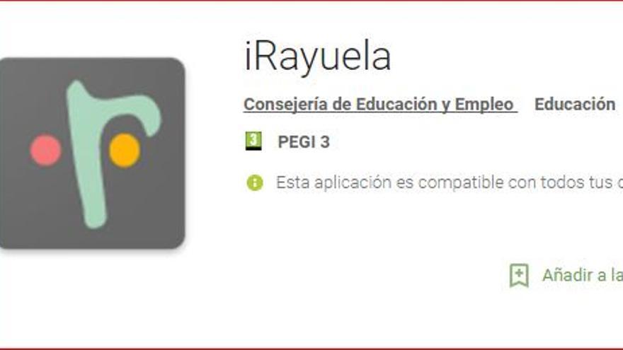 iRayuela aplicación Extremadura