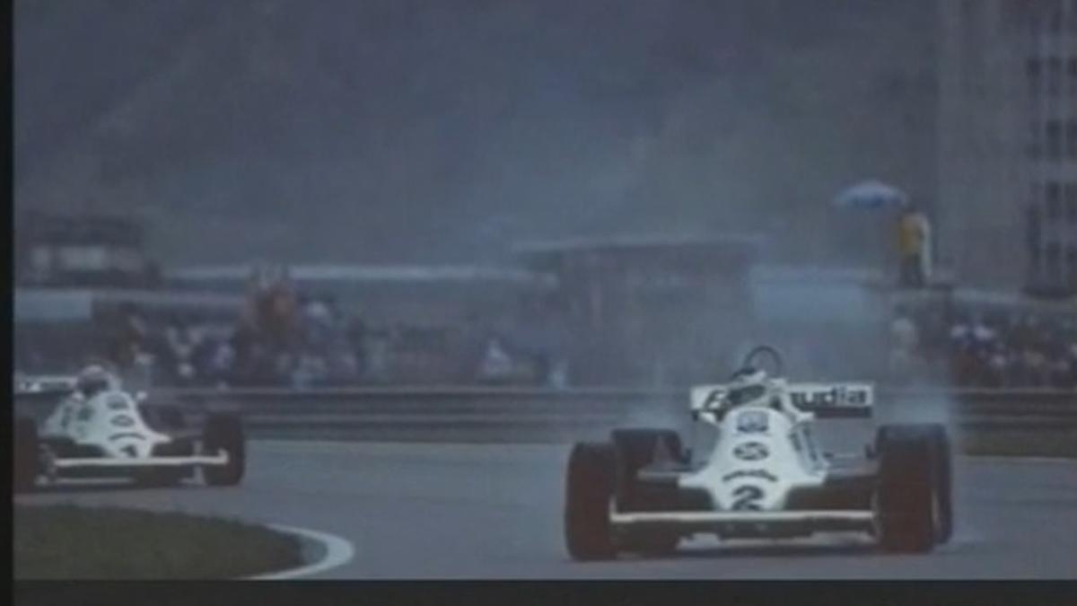 Reutemann ganó el GP de Brasil en 1981 superando a su compañero Alan Jones.