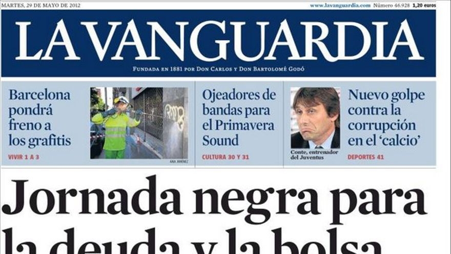 De las portadas del día (29/05/2012) #11