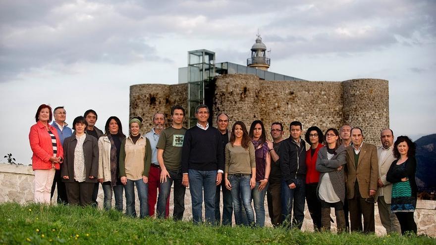 Presentación de la candidatura de CastroVerde a las elecciones municipales de 2011