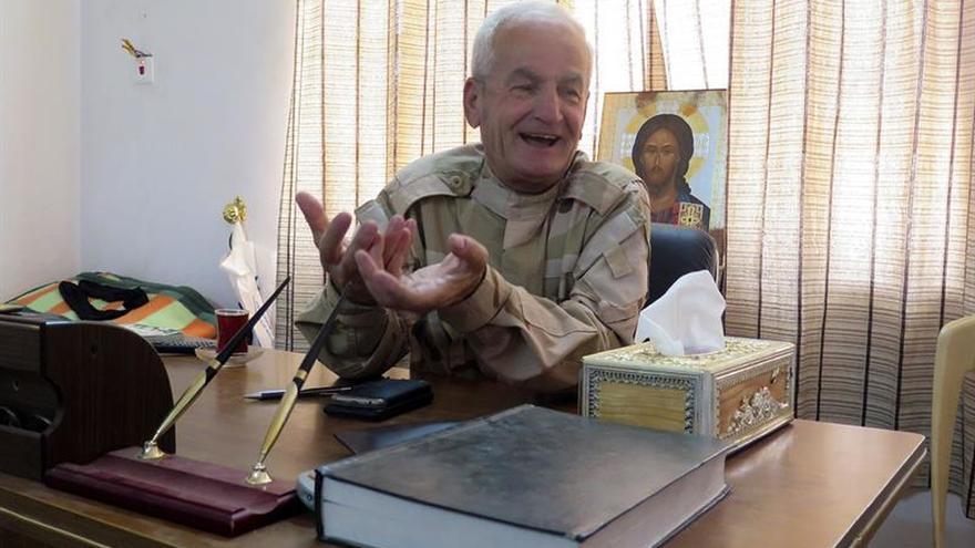 Los cristianos de Karakosh se defienden del Estado Islámico en Irak