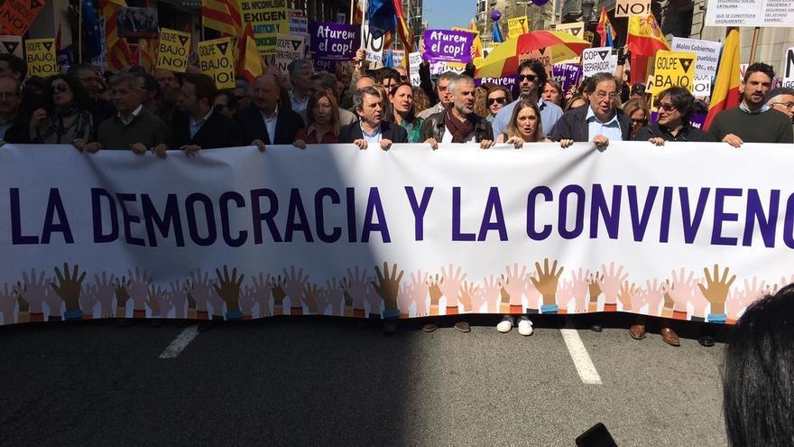 """Alberto Fernández (PP) reivindica una Cataluña """"independiente de esteladas"""""""