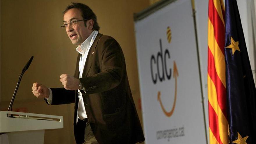 Josep Rull, de CDC, asegura que si Pujol no se hubiese apartado, lo habrían hecho ellos