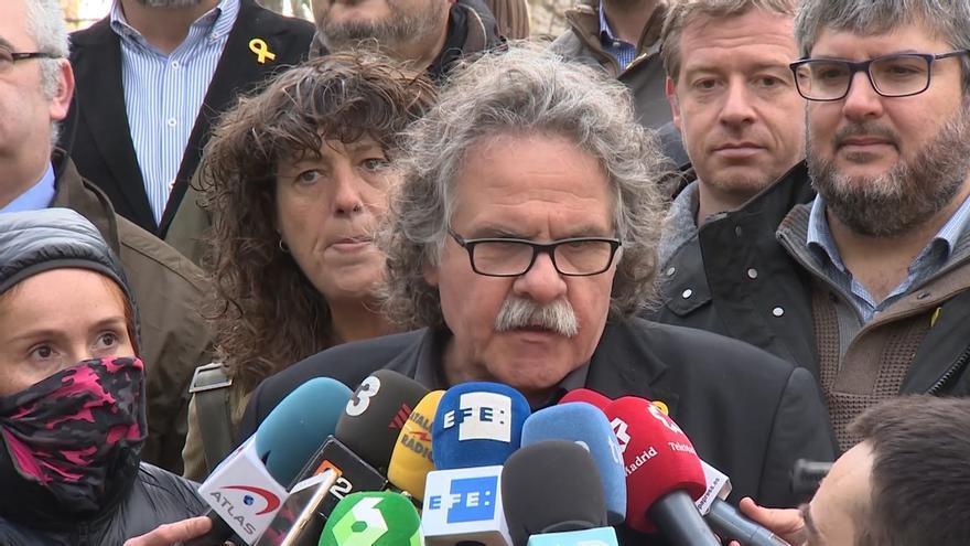 """Tardà cree que se busca """"escarmentar"""" a los independentistas: """"La pasión es la pérdida de los derechos civiles"""""""