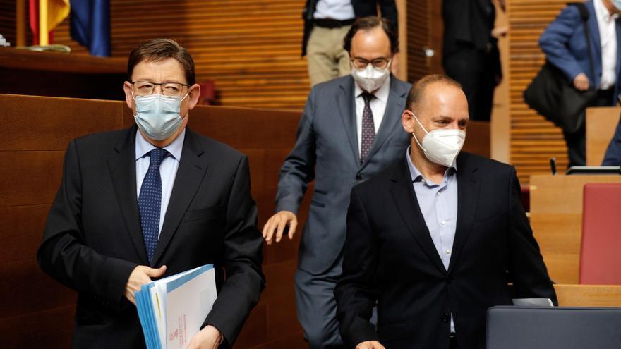 El vicepresidente de Ximo Puig quiere cesar por discrepancias con Podemos