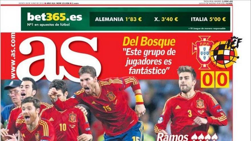 De las portadas del día (28/06/2012) #13