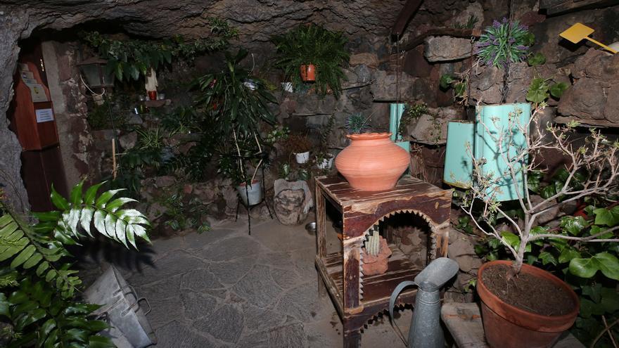 Museo de casas cueva en Artenara.