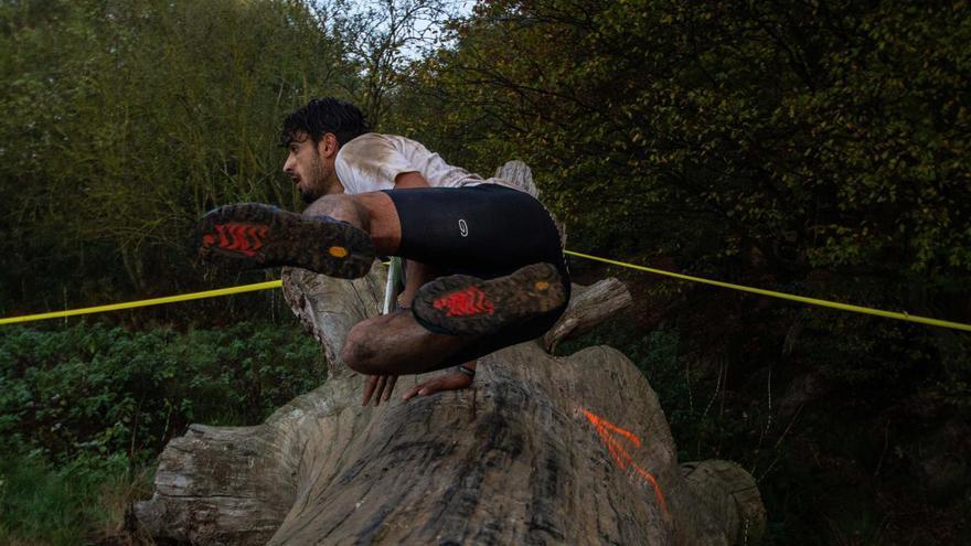 Imagen de una prueba de obstáculos.
