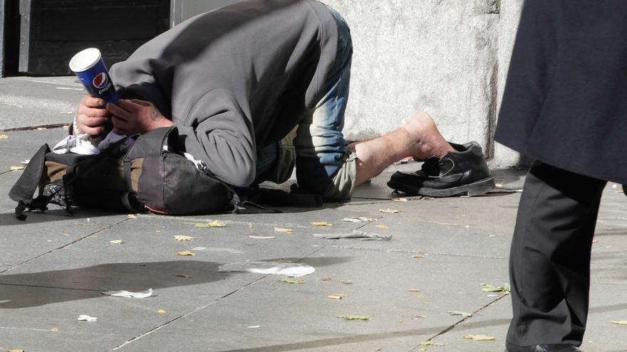 El Ayuntamiento de Málaga destina en cuatro años más de 2,4 millones para atender a personas sin hogar