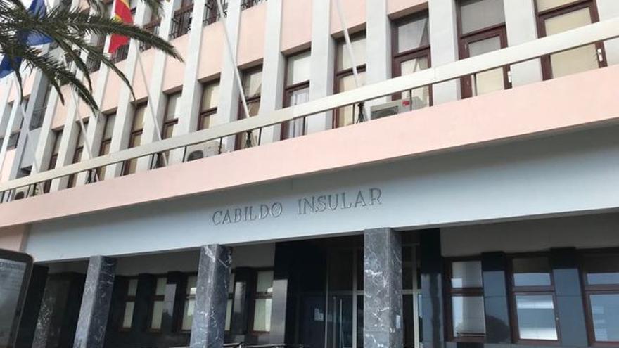 Fachada del Cabildo de La Palma.
