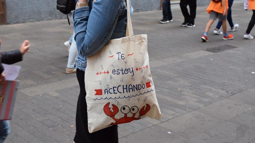 """Naida considera que sus bolsas son un producto """"más emocional que material""""."""