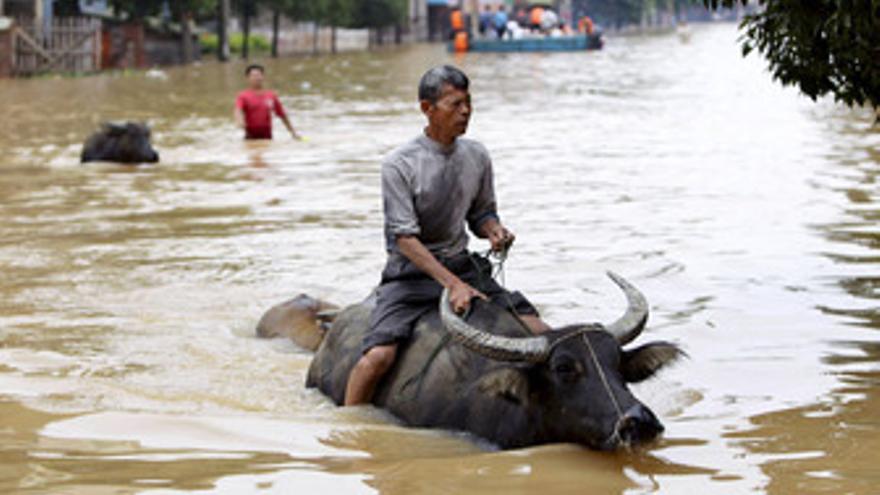 Inundaciones en China. (EUROPA PRESS)