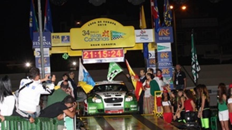 El Rally Islas Canarias se celebrará del 14 al 16 de abril.