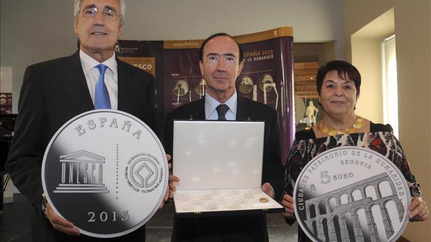 Ciudades Patrimonio de la Humanidad de España estrenan colección de monedas