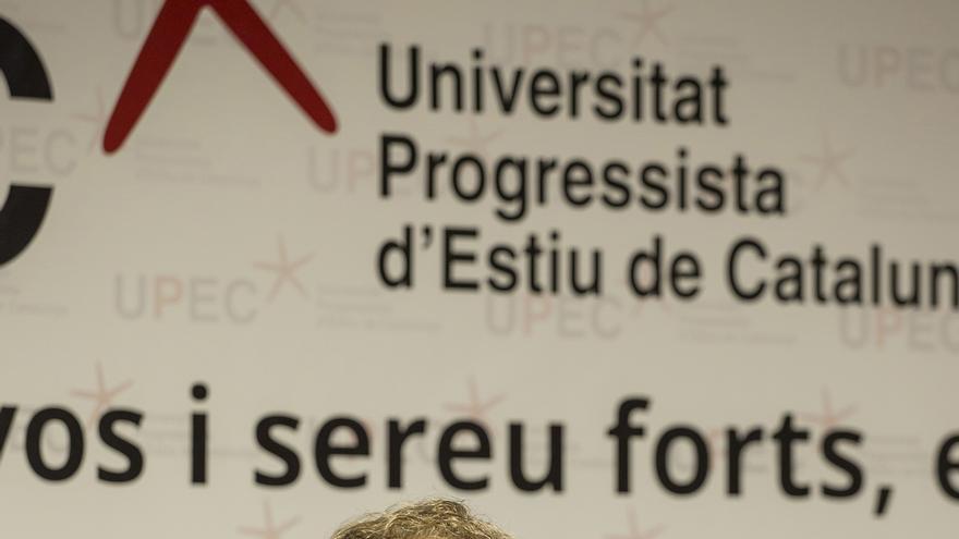 Carlin participó en la Universidad Progresista de Verano de Catalunya esta semana