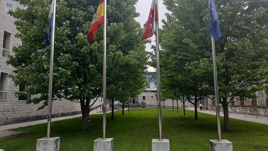 Archivo - Complejo judicial Las Salesas, en Santander. Sede de la Audiencia Provincial