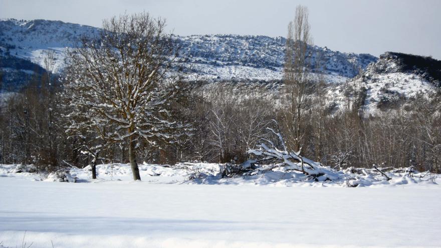 Euskadi activará este domingo el aviso amarillo por nieve, que se prolongará hasta el lunes a las 21.00 horas