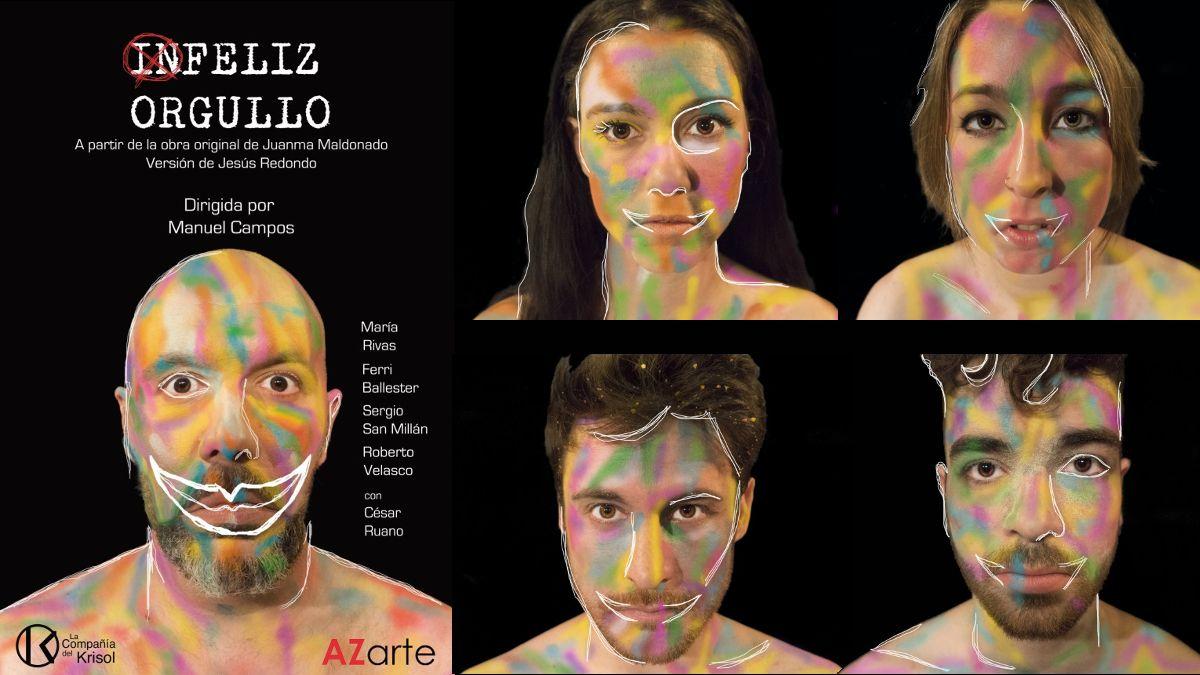 Cartel de la obra 'IN-Feliz Orgullo' | AZARTE