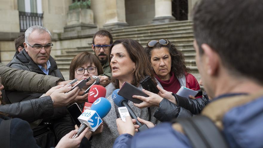Beatriz Artolazabal, en Vitoria, hace unas semanas.