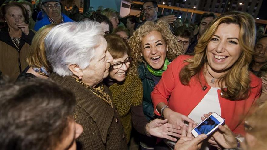 Susana Díaz insta a Pablo Iglesias que pida mañana disculpas a los andaluces