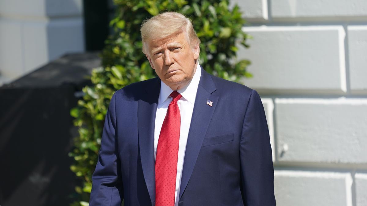 El expresidente de EEUU Donald Trump