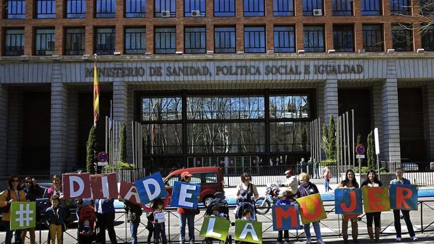 Las españolas se sumarán el miércoles al Paro Internacional de Mujeres