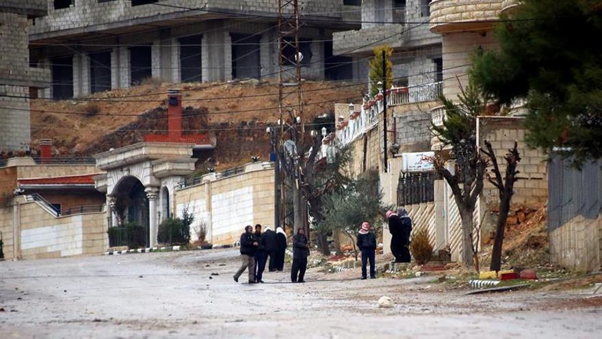 Muere por desnutrición una niña en la localidad asediada siria de Madaya