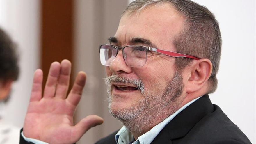 """""""Timochenko"""" afirma que las FARC ya han entregado a la ONU el 30 % de sus armas"""