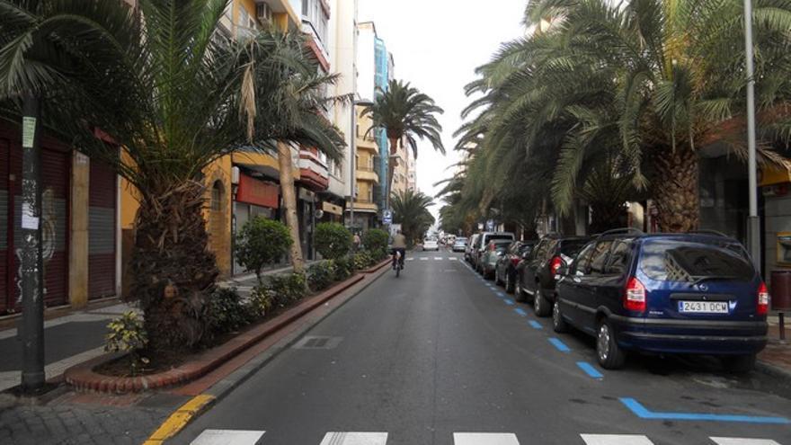 Calle Luis Morote en Las Palmas de Gran Canaria