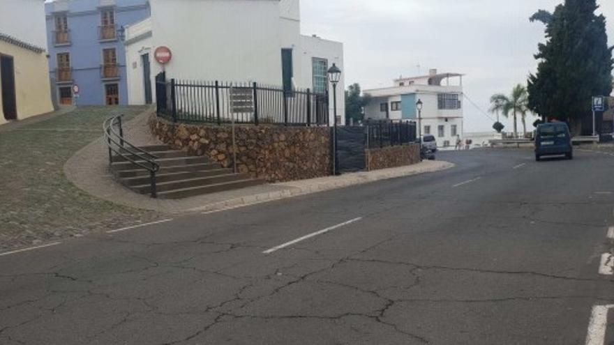 Barrio El Pueblo deTijarafe.