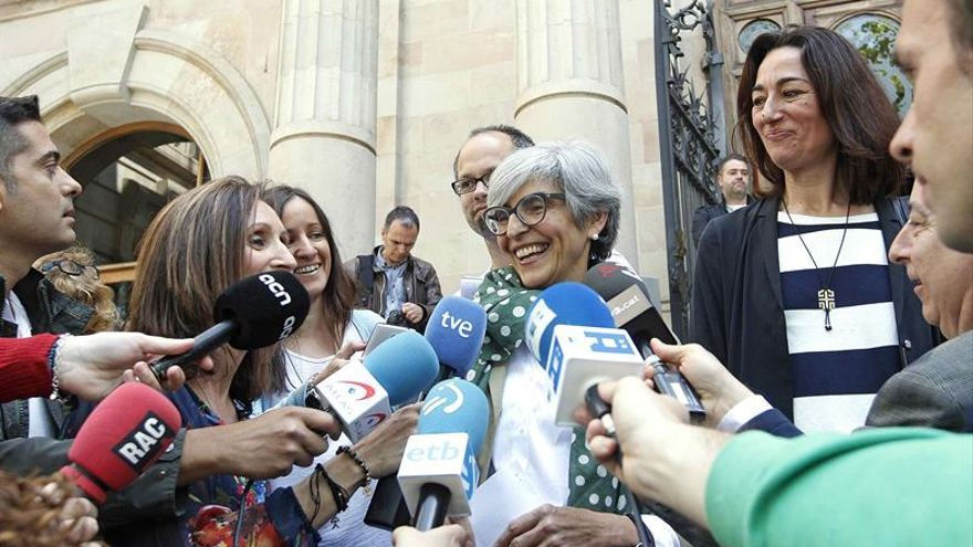La abogada del subinspector absuelto, Olga Tubau