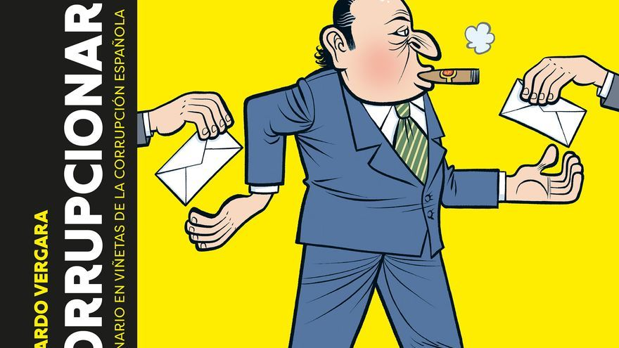 Portada de 'Corrupcionario'. Bernardo Vergara. Random Cómics.