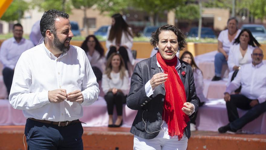 José Luis Blanco y Madalena Valerio, en Azuqueca de Henares