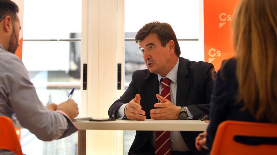 Fernando Giner, durante la entrevista