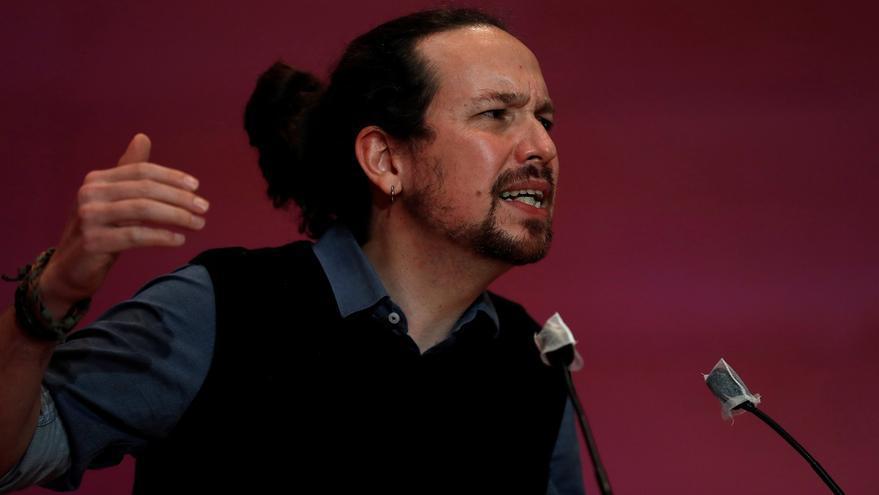 El candidato de Unidas Podemos a la Presidencia de la Comunidad de Madrid, Pablo Iglesias. EFE/Alberto Estévez/Archivo