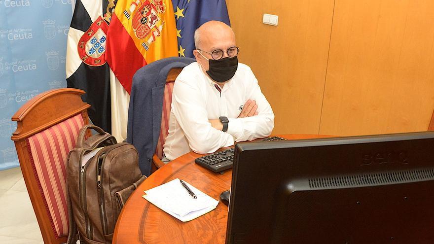 El consejero de Sanidad del Gobierno de Ceuta, Javier Guerrero