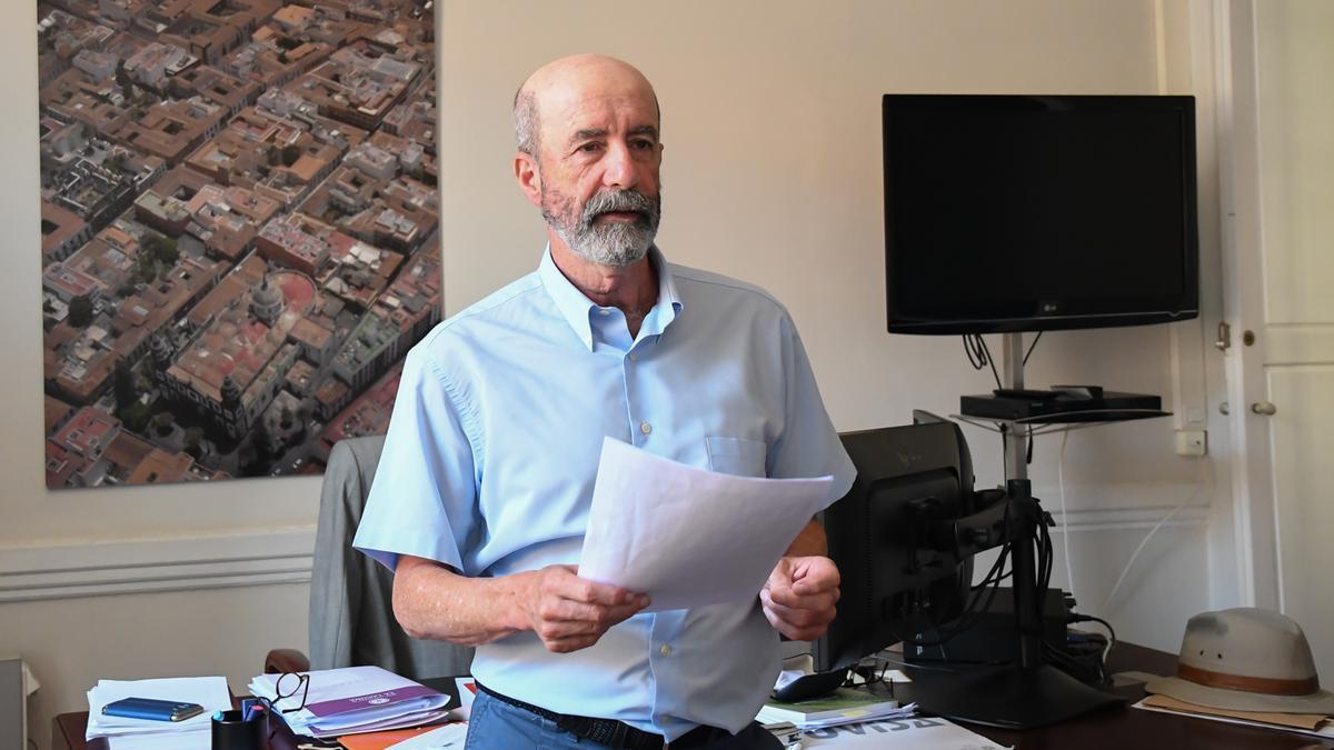 Santiago Pérez, concejal de Urbanismo de La Laguna
