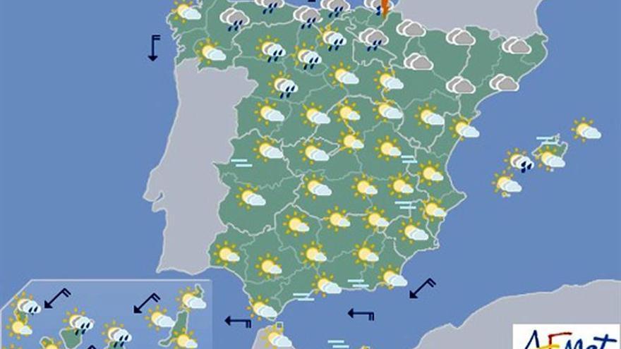 Hoy, tormentas fuertes en Cataluña y chubascos en Baleares y C.Valenciana