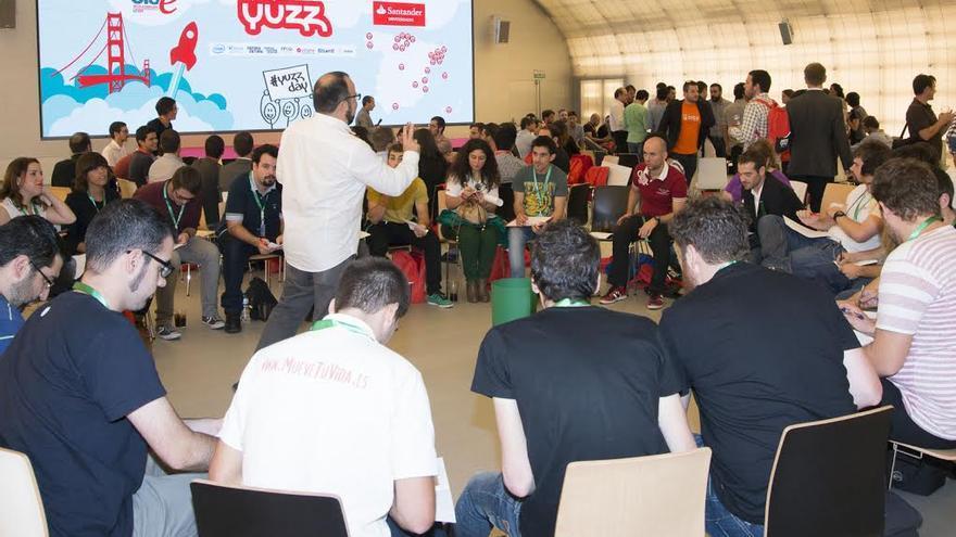 Jóvenes del programa Yuzz en un encuentro nacional. / Foto: Programa Yuzz