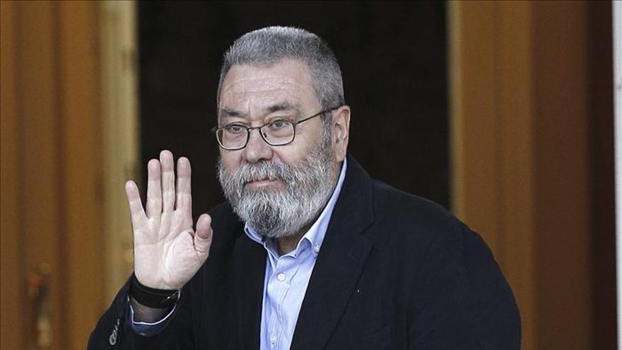 Méndez reprocha a Rajoy que la reunión se produzca con 17 meses de retraso