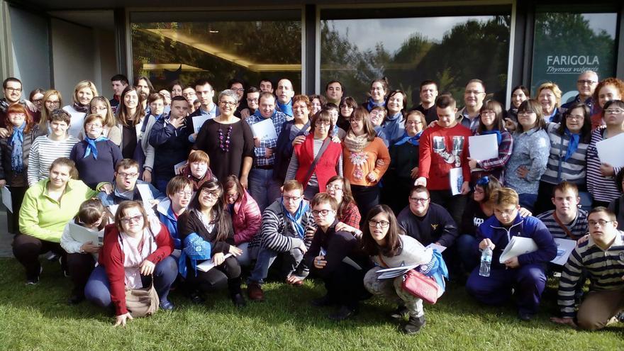 Encuentro de jóvenes autogestores organizado en noviembre por Down Catalunya