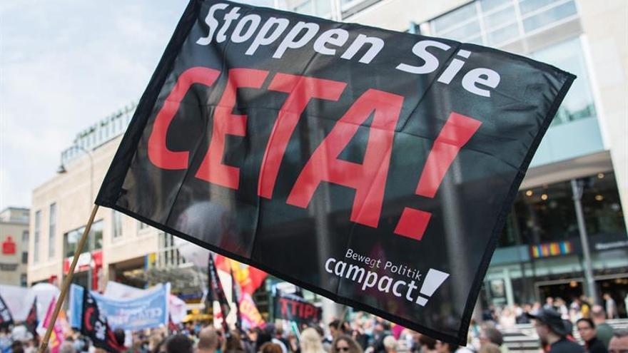 La socialdemocracia alemana quiere salvar el CETA pese a la movilización en contra