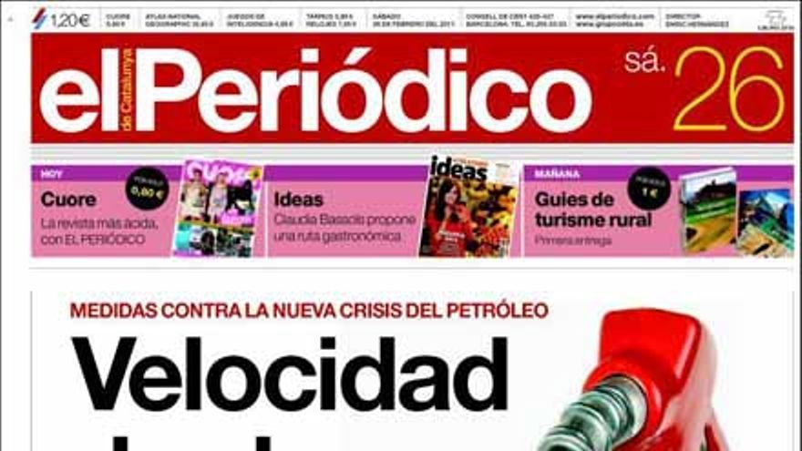 De las portadas del día (26/02/2011) #7