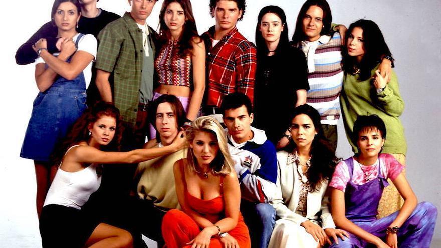 Imagen promocional de la primera temporada de 'Al salir de clase'