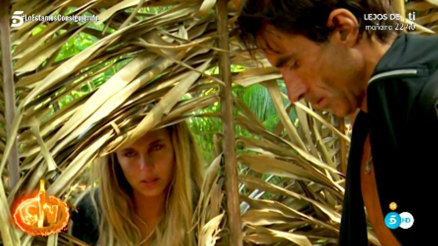"""Hugo e Ivana rompen en 'Supervivientes': """"Están pasando cosas que no nos hacen bien ni a ti ni a mí"""""""