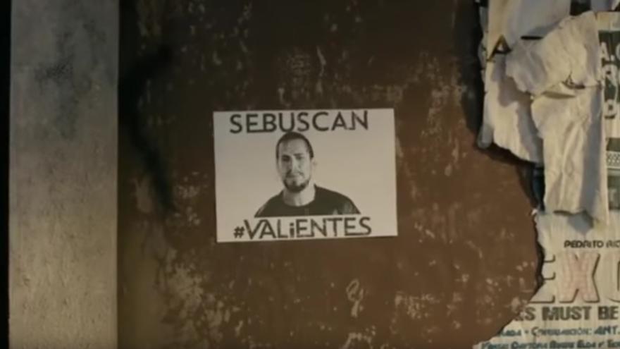 Se buscan valientes. Videoclip de El Langui.