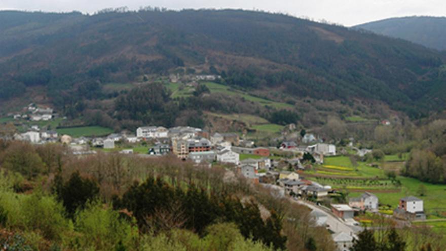 Vista de Riotorto (Lugo)