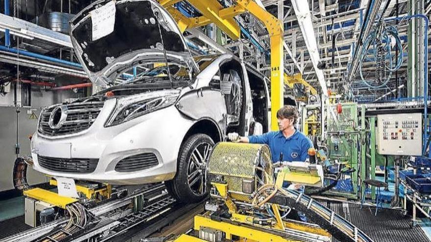 Factoría de la multinacional Mercedes