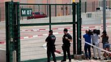 Acceso a la cárcel de Lledoners, en la que Jordi Cuixart permanece en prisión preventiva