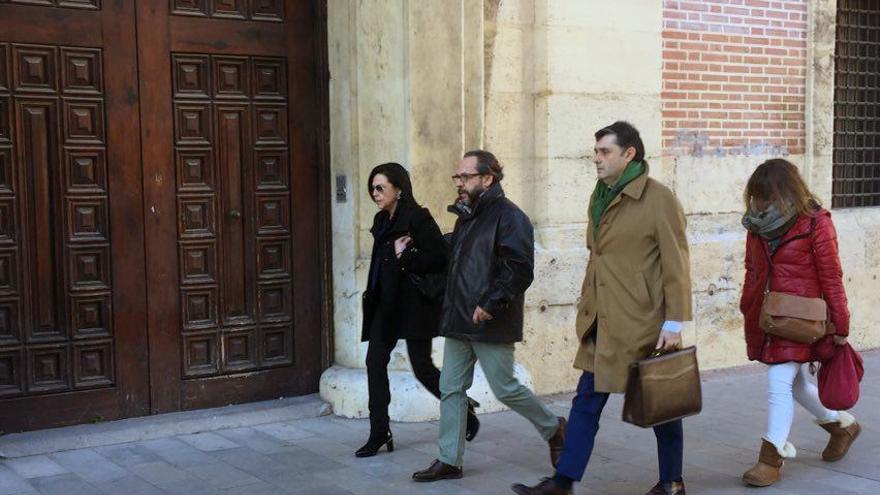 Álvaro Pérez 'El Bigotes' a su llegada al TSJ valenciano